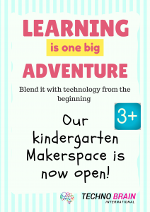 Kindergarten Maker space