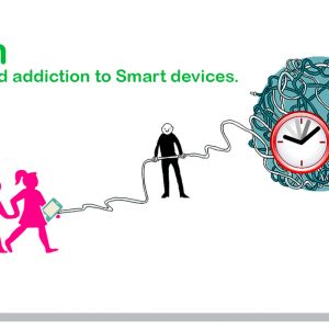 iGen infants and addiction to Smart devices.