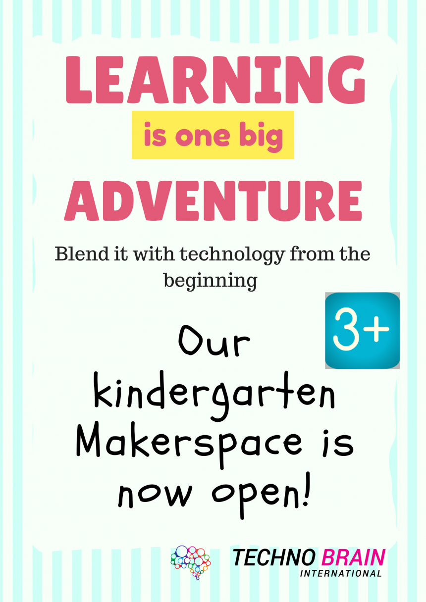 What can you except from your kid at Kindergarten Maker Space?